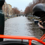 Bicycle View of Amsterdam