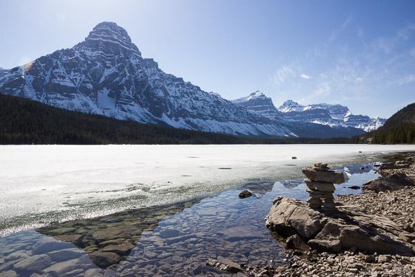 Canadian Rocky Mountain vista