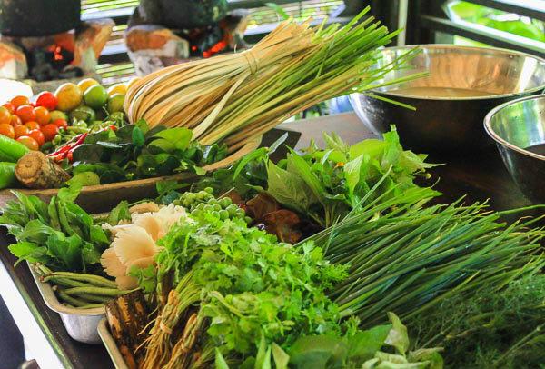 Cooking class herbs