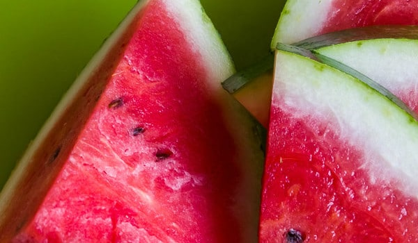 Food Postcard: Watermelon