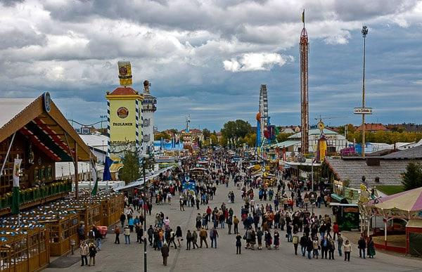 Oktoberfest view