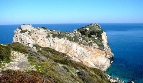 Walking Amongst the Greek Herbs on Skiathos