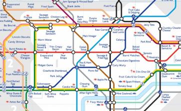 Taste the London Underground
