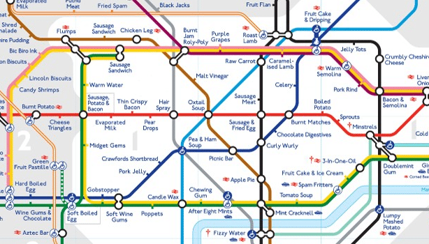 Taste the London Underground