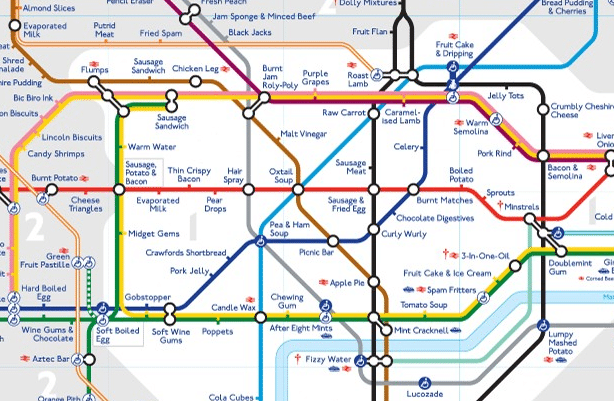 Tastes of Underground London