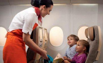Etihad Introduces Flying Nannies