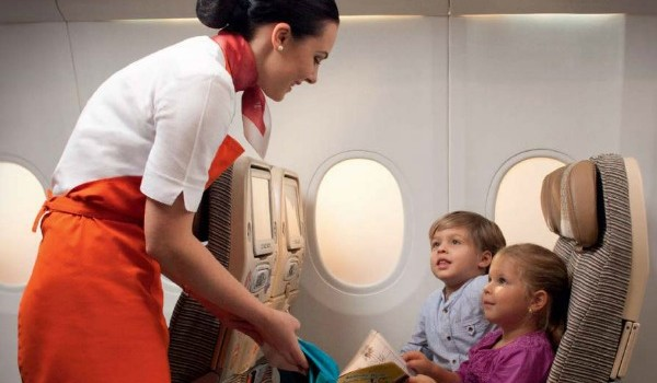 Etihad Introduces Flying Nannies
