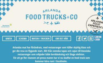 Arlanda Food Truck Takes Airport Cuisine to Stockholm Streets