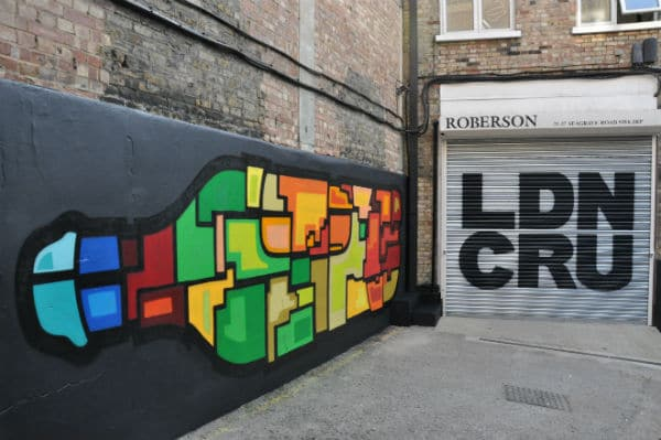 London Cru Mural