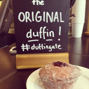 'Duffingate' was sparked off by the launch of Starbuck's new Duffin pastry, which was contested by Bea's of Bloomsbury in London. (Photo Credit: Bea's of Bloomsbury)