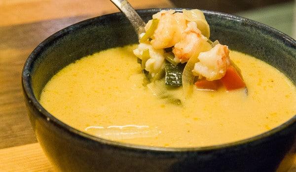 Food Postcard: Lobster Soup