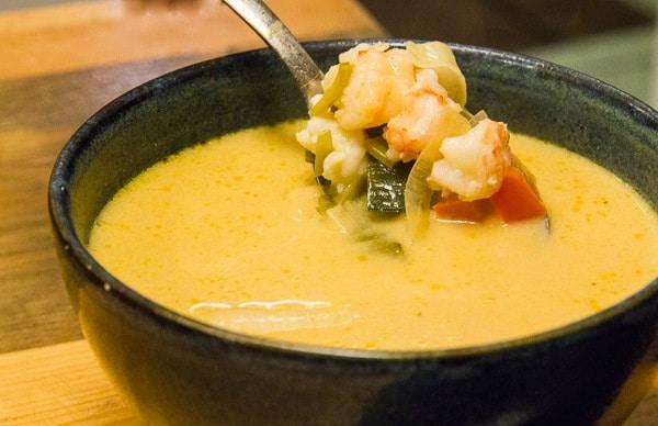 lobster soup