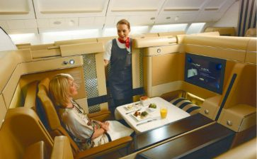 Up in the Air: Top Ranked Airline Food