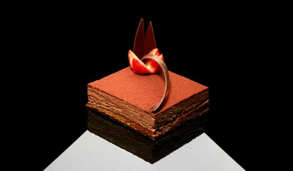 Food Postcard: Royal Chocolate Cake