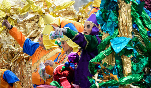 The Sights and Sounds of Mardi Gras