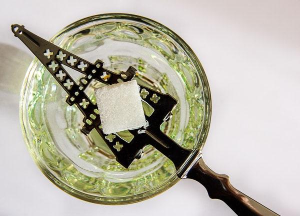 Absinthe sugar spoon