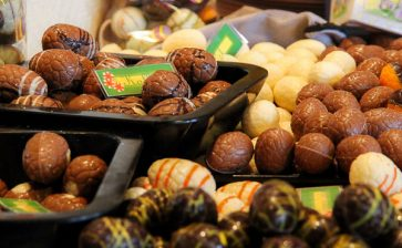 Food Postcard: Chocolate Easter Eggs