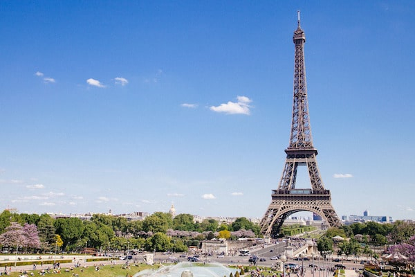 The Eiffel Tower is on most travellers' to visit list. (Photo Credit: Pixabay)