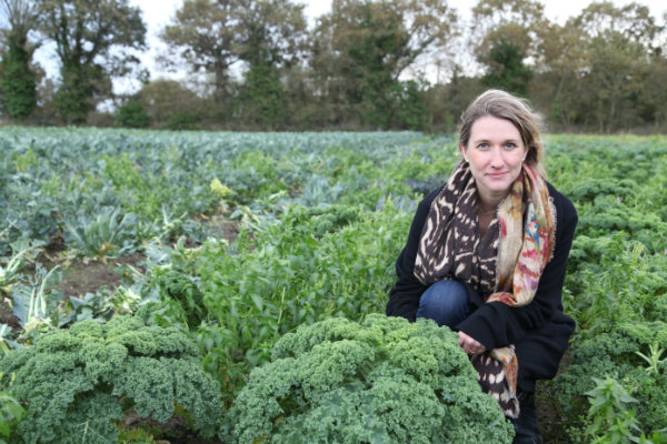 Kristen Beddard started The Kale Project when she couldn't find kale in France. (Photo credit: Kristen Beddard)
