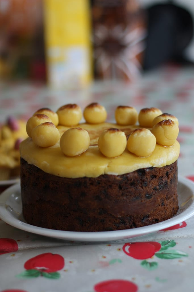 (Photo credit: Simnel Cake by Flickr user Ali Elangasinghe)