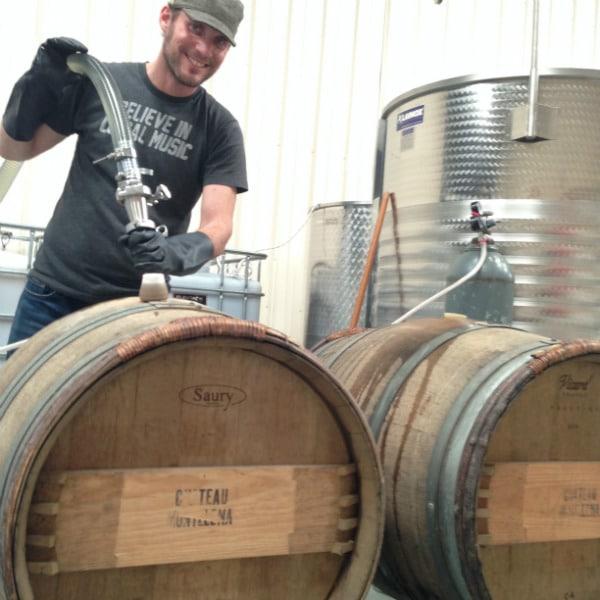 Oron filling barrels