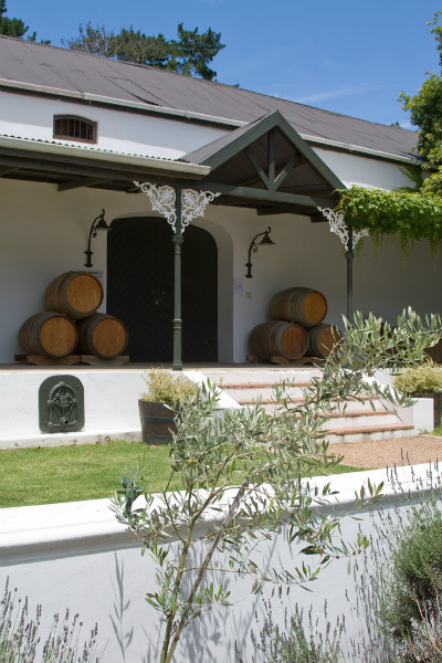 Mont Rochelle is a hotel and vineyard in South Africa's famous wine region. (Photo Credit: Mont Rochelle Cellar by Flickr user jomilo75)