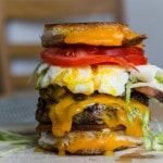 Sweet Baby Cheesus: World's Most Travelled Burger?