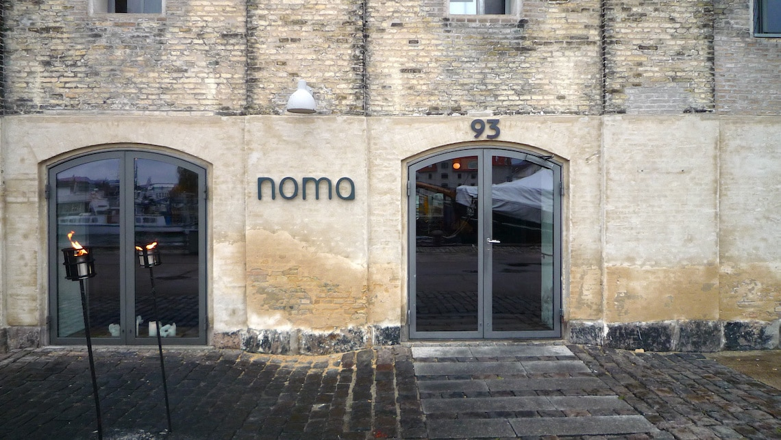 The world's best restaurant Noma. (Photo Credit: noma Restaurant in Copenhagen - Main Entrance by Flickr user pazca, original image has been resized)