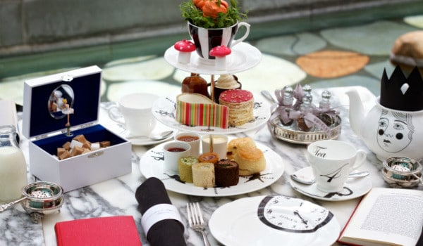 A Mad Hatter's Afternoon Tea