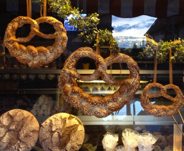 Pretzels in Rothenburg ob der Tauber