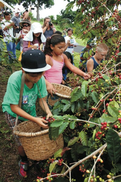 Kona Coffee Festival (Photo Credit: Kona Coffee Cultural Festival)