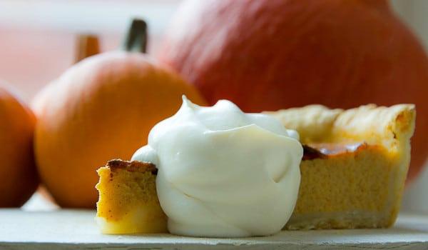 Food Postcard: Thanksgiving Pumpkin Pie