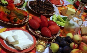 Food Postcard: The Bulgarian Table
