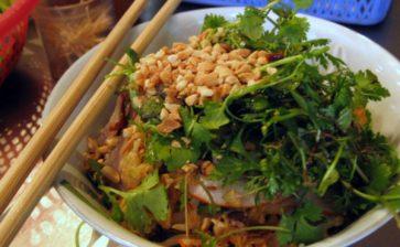 A Bowl of Bún Bò in Hanoi