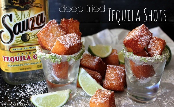 When Cake and Tequila Collide: Deep Fried Tequila Shots