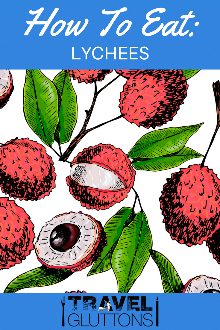 Originating in southern China, lychees might look like armoured strawberries, but inside is a sweet, fragrant fruit well worth the shell peeling effort.