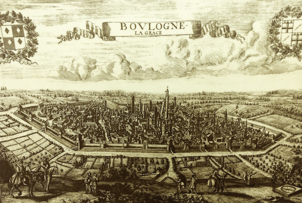 An historic map of Bologna (Photo credit: Zoé Albrecht)