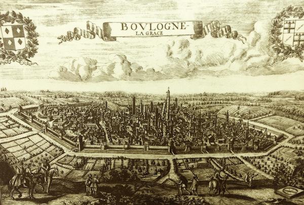 An historic map of Bologna (Photo credit: Zoé Albrecht)
