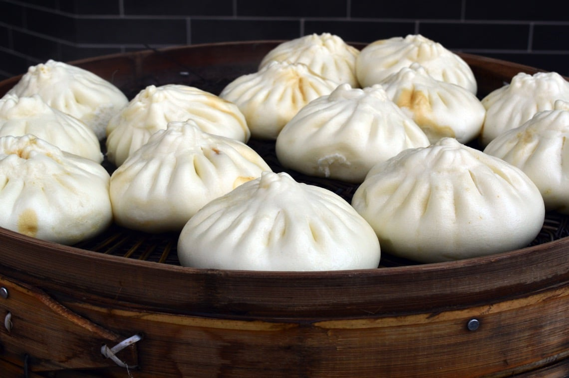 Snowy white baozi are such a beautiful sight (Photo Credit: Baozi in Shenyang by Flickr user xiaozhuli)