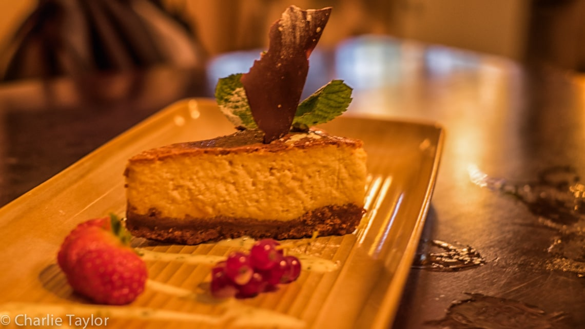 Creamy and Light, Baked Lemon Cheesecake