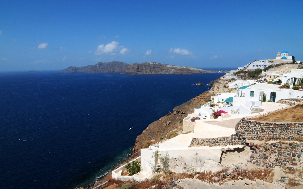 Santorini Oia Sea view