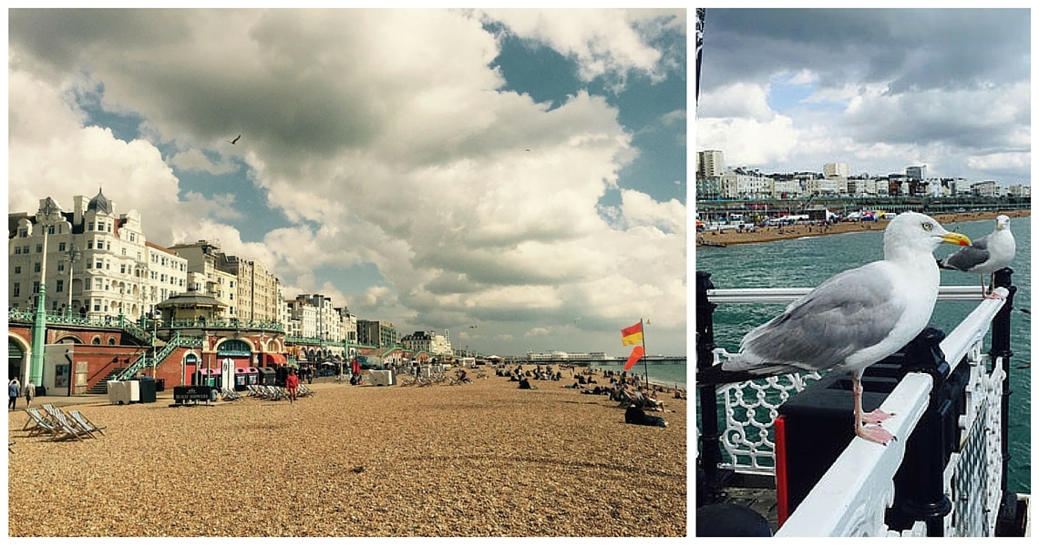 "England's famously charming seaside resort is ""Britain's Hippest City"". (photo credit: Amanda Burger)"