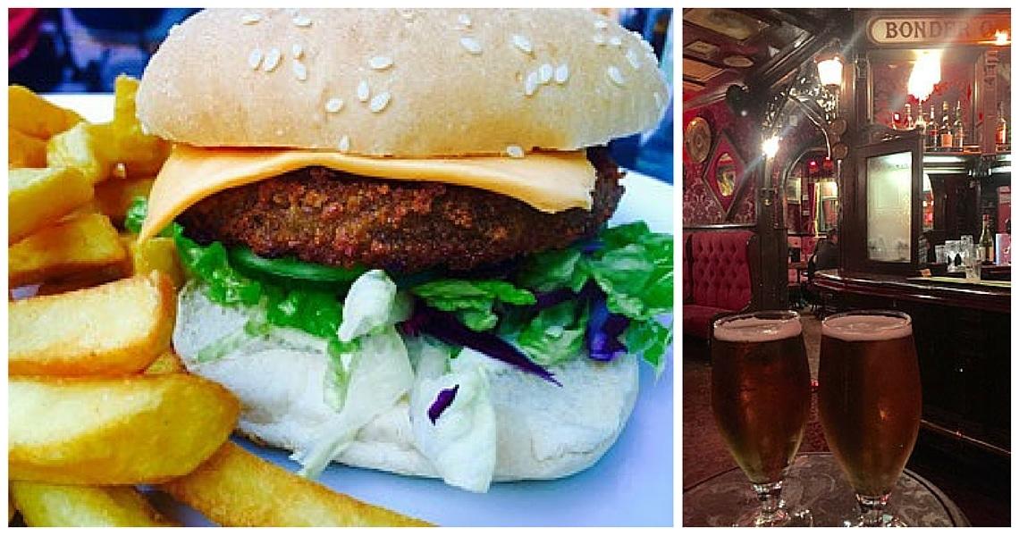 Brighton has some great places to enjoy vegan burger. (photo credit: Amanda Burger)
