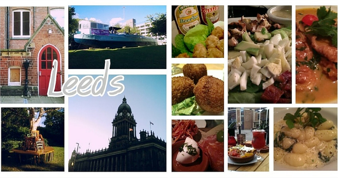 Leeds is a vibrant city with an exciting food scene. (Photo credit: Maria Berz)