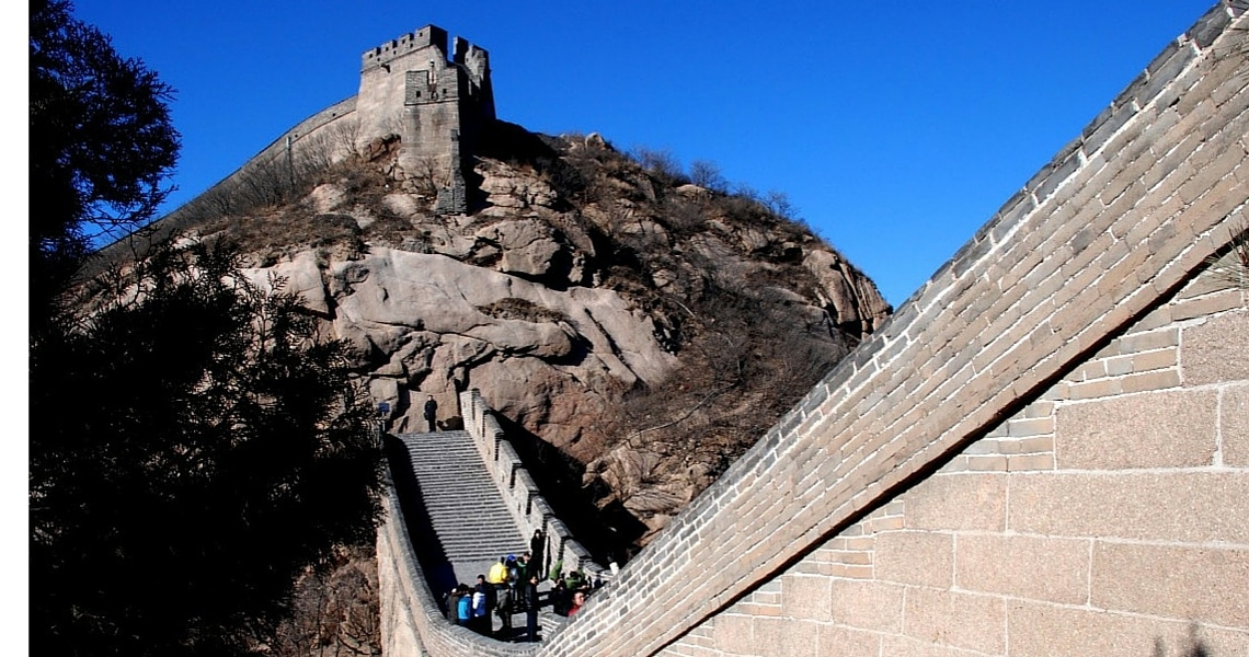 Stepping on the ancient stones of the Great Wall is an experience you will never forget. (photo credit: Maria Haase)