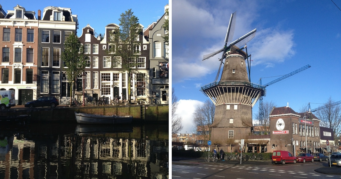 The biggest wooden windmill in the Netherlands and the micro brewery Brouwerij Het Ij next to it are located in the East of the city. (photo credit: I Wander & Roam)