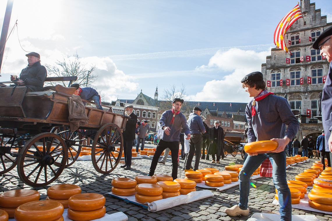 Cheese Market, a trip to the past: VVV Gouda