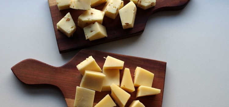 Food Postcard: Gouda Cheese