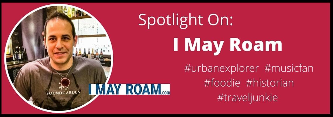 Brian from I May Roam