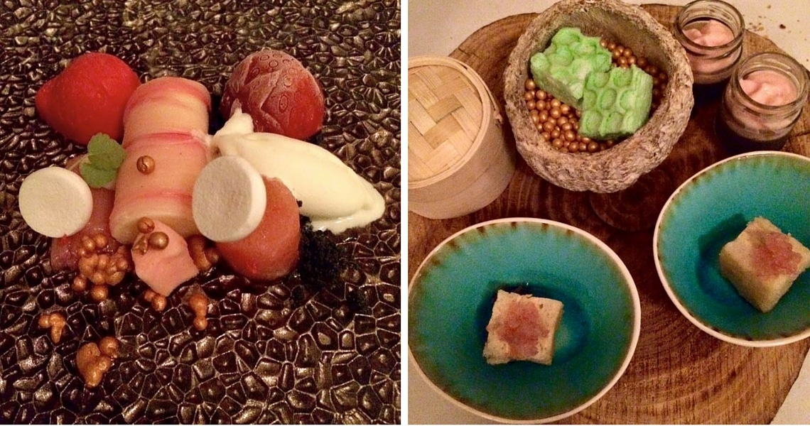 Desserts at Mazie come in all shapes, textures and flavors. (Photo credit: Christine Cognieux)
